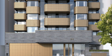 AATi cast metal façade project - Lodge Road, London